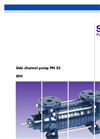 Model SFH PN25 - Side Channel Pump Brochure