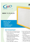 Aerostar GeoPleat - Advanced Pleating Technology Brochure