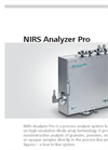 NIRS - PRO Series - Fiber System Analyzer - Brochure