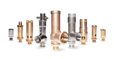 Safety Relief Valves - Compressed Air & Gas