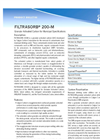 Filtrasorb - 200-M - Granular Activated Carbon - Brochure