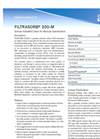 Filtrasorb - 300-M - Granular Activated Carbon for Municipal Specifications - Brochure
