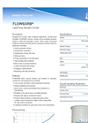 Flowsorb - - Low-Flow Water Treatment Applications - Brochure