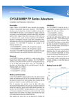 Cyclesorb - FP Series - High-Density Polyethylene Vessels - Brochure