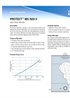PROTECT - MX-500-V - Vapor Phase Adsorber - Brochure