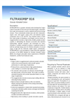 Filtrasorb - 816 - Granular Activated Carbon - Brochure