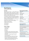 Calgon Carbon - - Dual Express - Carbon Adsorption System - Brochure