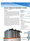 Calgon Carbon Rayox - Model 120 - Modular Treatment System - Brochure