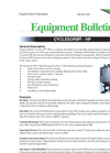 Cyclesorb - HP - Stainless Steel Portable Liquid Treatment Unit Brochure