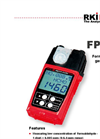 RKI - Model FP-31 - Portable Formaldehyde Monitor - Brochure