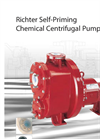 Model MNK-S 50-32-160 - Self-Priming Chemical Centrifugal Pumps - Brochure