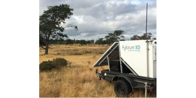 Fulcrum3D Sodar - Portable Stand-alone Remote Sensing Unit