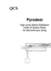 Pyrodest - High Purity Water Distillation Unit Brochure