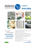 Nubian - Greywater Recycling System Brochure