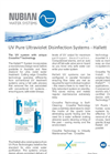 UV Pure Ultraviolet Disinfection Systems - Hallett Brochure