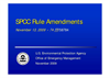 SPCC Rule Amendments Brochure