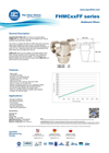 Model FHMCxxFF - Sediment Filters Brochure