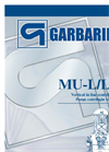 Model MU-L - Vertical in Line Centrifugal Pumps Brochure