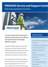 Provisio Service and Support Solutions - Brochure