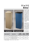 Model 11 x 11 Series - Brine Tanks Brochure