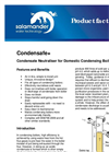 Condensafe+ Specification Sheet