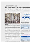 CERINOX - MF Series - Cross Flow Filtration Plant Brochure