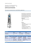 Discstar - Model I - Stainless Steel Filter Housing Brochure