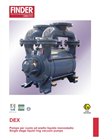 Model DEX - Vacuum Pumps Brochure
