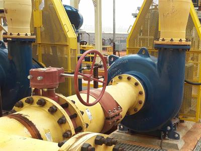 KREBS - Model millMAX-e - High Efficiency Slurry Pump for Abrasive Slurry