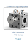 Extrusion Gear Pumps Brochure