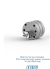 General purpose PU Metering Gear Pump PLB Series Brochure