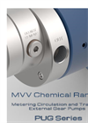 MVV Chemical Range Metering Circulation and Transfer External Gear Pumps PUG Series Brochure