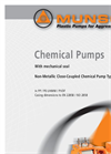 Model NP-B - Close Coupled Chemical Pump- Brochure