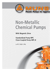 Model ECM - Armoured Magnetically Coupled Horizontal Chemical Pump- Brochure