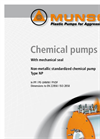 Model NP - Horizontal Centrifugal Pumps Brochure