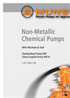 MUNSCH - NPC - Armoured Horizontal Standardized Chemical Pump Brochure