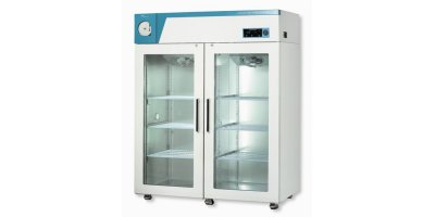 Model CLG-1400G  - Glass Double Door Refrigerator