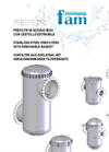 PFP Series - Stainless Steel Prefilters With Removable Basket Data Sheet