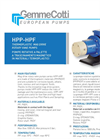 Model HPP/HPF - Thermoplastic Mag-Drive Rotary Vane Pumps Brochure