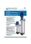 Model HVL - Vertical Centrifugal Pump Brochure