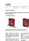 MFM 2100 Mass Flow Meter & MFC 2100 Series - Mass Flow Controller Datasheet
