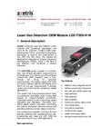 Axetris - Model LGD F200-H HCl - Laser Gas Detection OEM Module - Datasheet