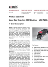 Axetris - Model LGD F200-A CH4 - Laser Gas Detection Modules - Datasheet