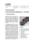 Axetris - Model LGD F200-A NH3 - Laser Gas Detection Modules - Datasheet