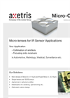 MMicro-Lenses for IR Sensor Applications - Brochure