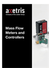 Axetris - Models MFM 2000 and MFM 2200 Series - Mass Flow Meter Modules - Datasheet