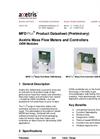 Axetris MFD Plus Datasheet
