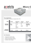 Micro-Optics - Applications Datasheet