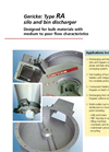 Gericke - Type RA - Silo And Bin Discharger Brochure