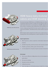 HDM and BSM Valves - Datasheet